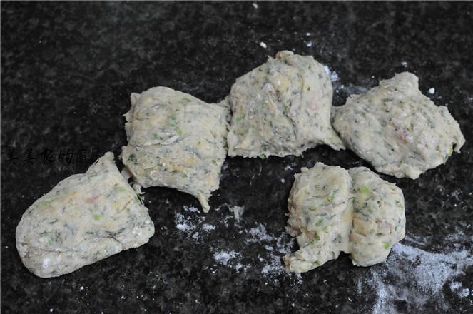 菠菜白面肉团怎么炒