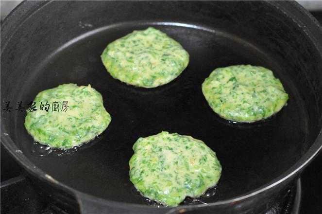 菠菜饼的简单做法