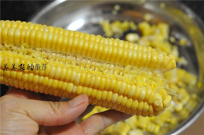 烤玉米粒的做法图解