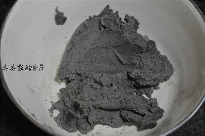 黑豆糯米紫薯饼的简单做法