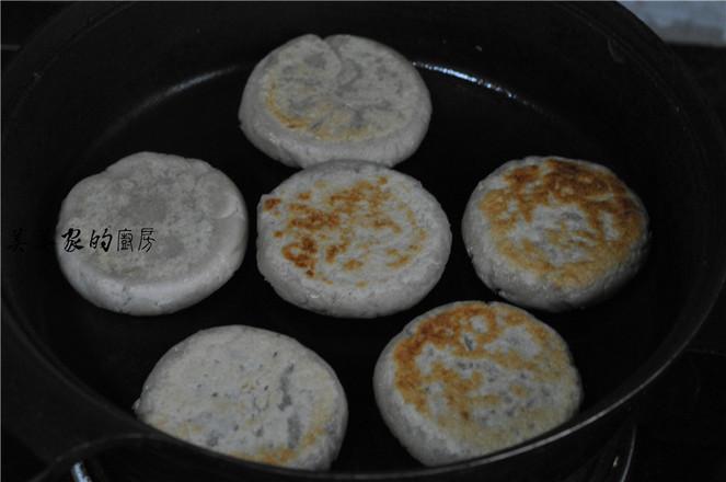 花生紫薯饼怎样炒