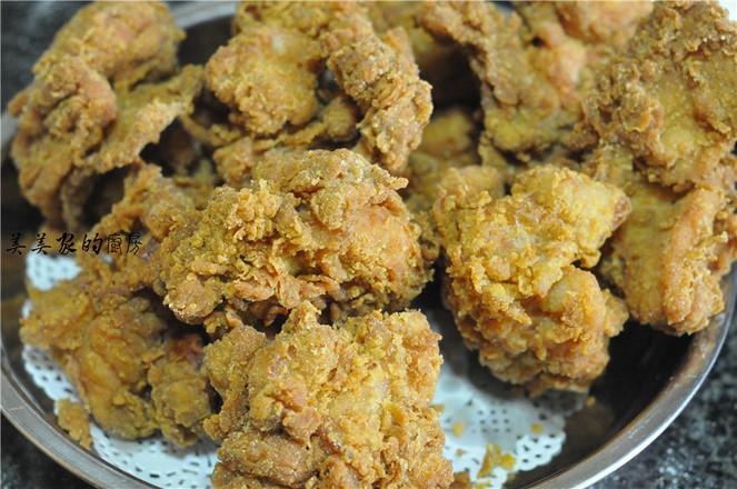 脆皮炸鸡怎样炒
