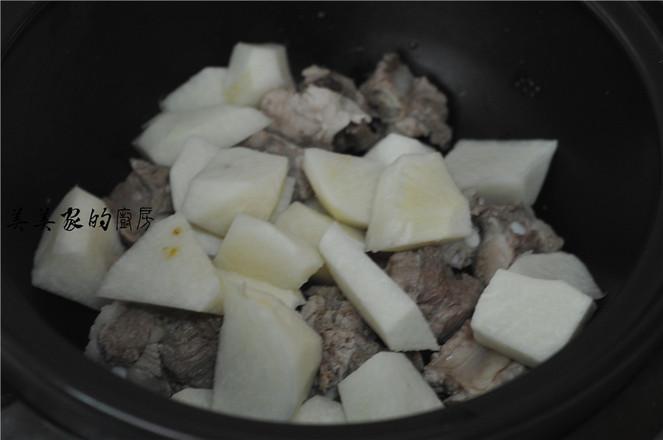 凉薯炖排骨的简单做法