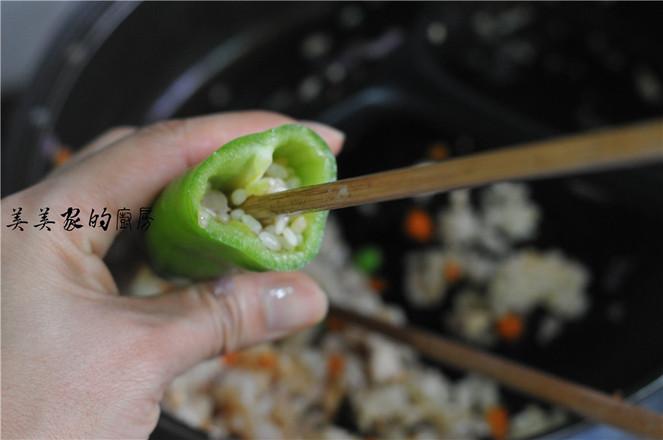 糯米饭蒸辣椒怎样煸