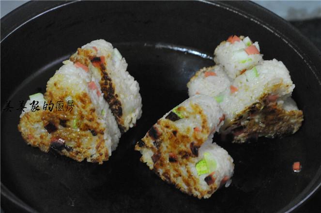 日式照烧饭团怎样炒