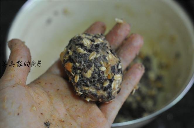 红薯紫米燕麦团怎么煮