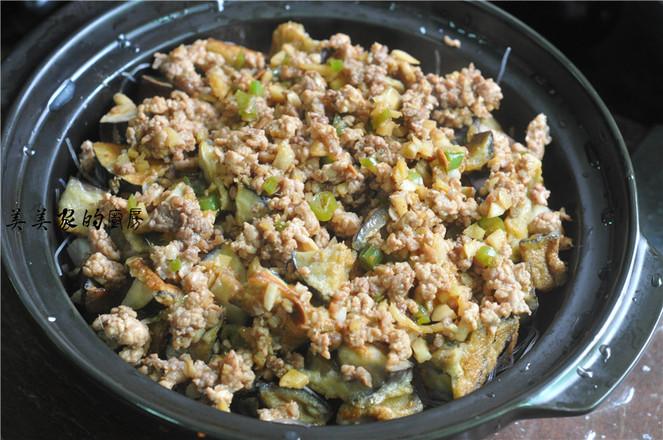 茄子豆腐粉丝煲的制作方法