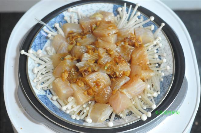 金针菇蒸巴沙鱼怎么煮