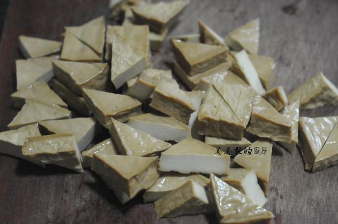 蜜汁三角豆干的做法大全
