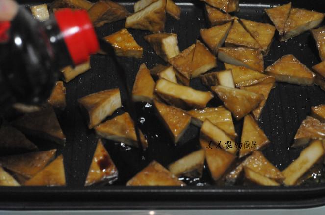 蜜汁三角豆干怎么做