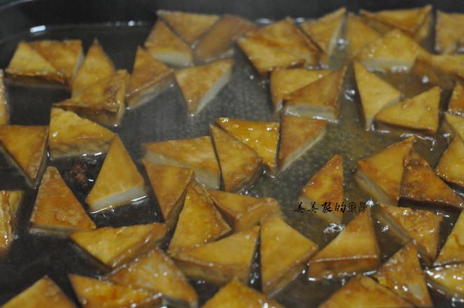 蜜汁三角豆干怎么煮
