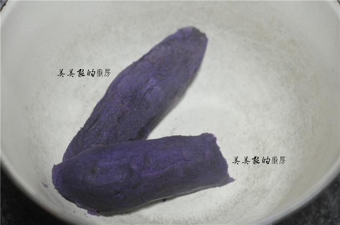全麦紫薯糕的做法图解