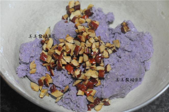 全麦紫薯糕怎么炒