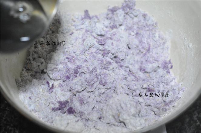 全麦紫薯饼怎么吃