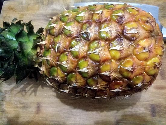 什锦菠萝炒饭的做法图解