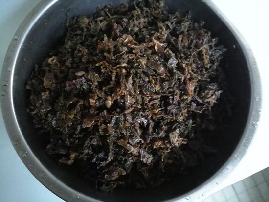 小竹笋炒咸菜的简单做法