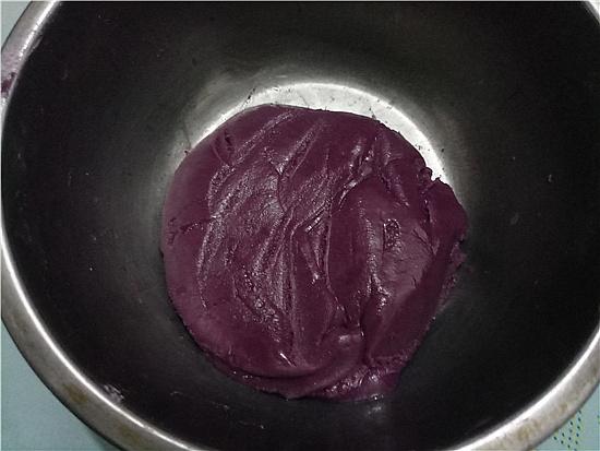 植物油彩色蛋黄酥的简单做法
