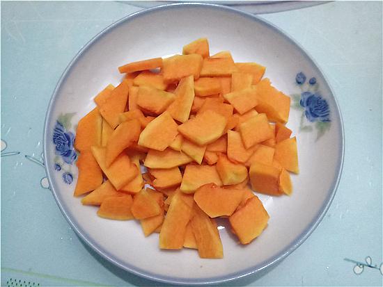 南瓜百合小米粥的家常做法