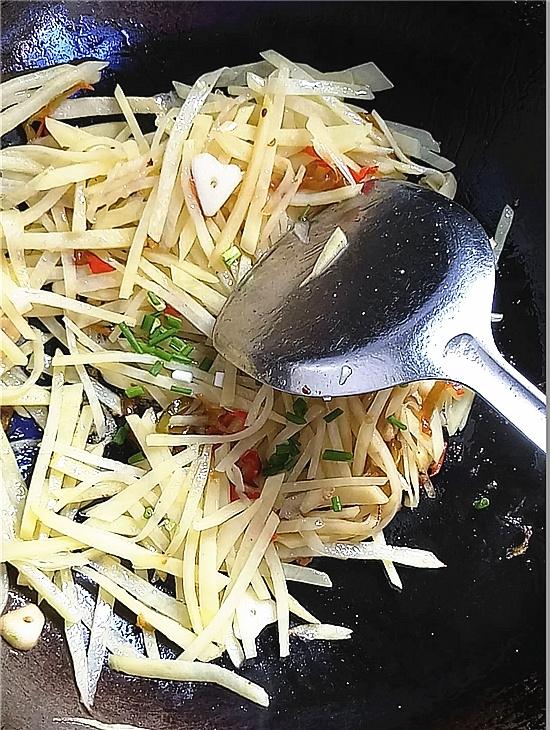 醋溜土豆丝怎么吃