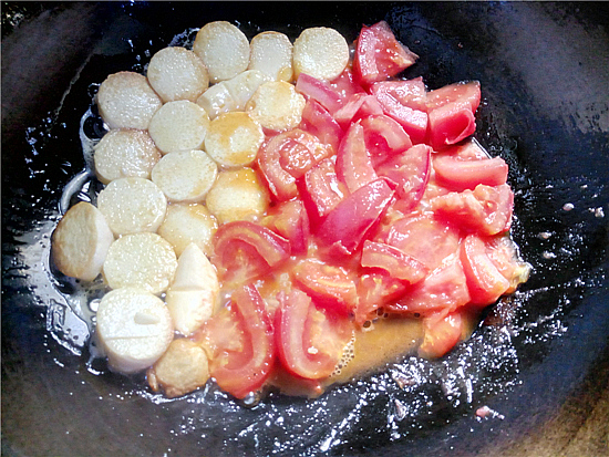 番茄金针菇烩鸡蛋豆腐怎么吃