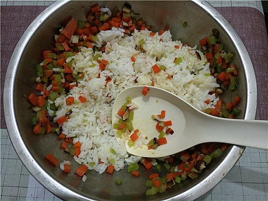 三色米饭丸子怎么做