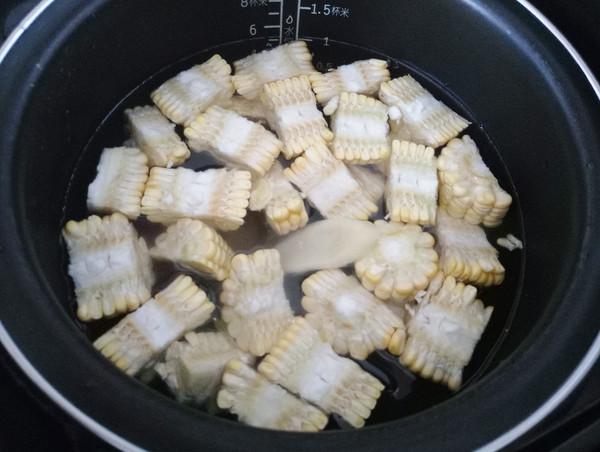 甜玉米老鸭汤的做法图解