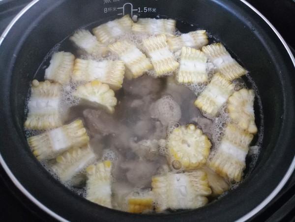 甜玉米老鸭汤怎么吃