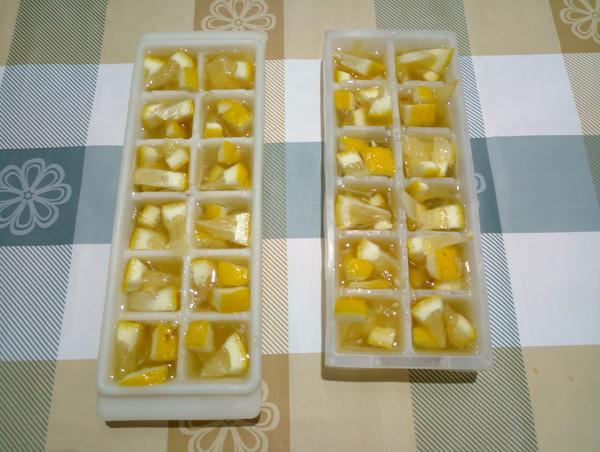 蜂蜜柠檬冰块怎么做
