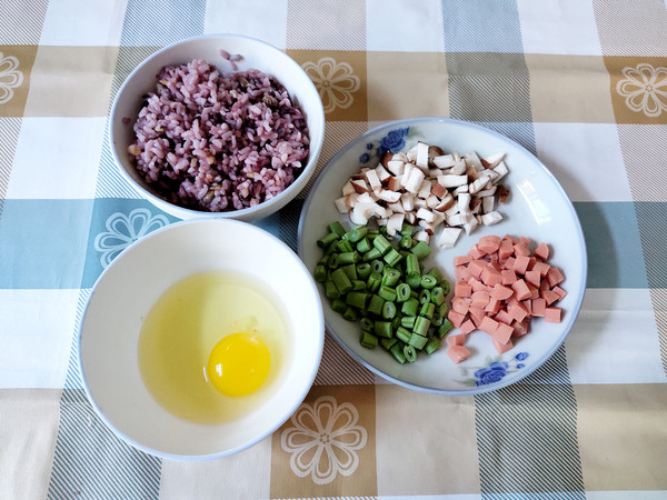 彩色的炒饭的做法大全