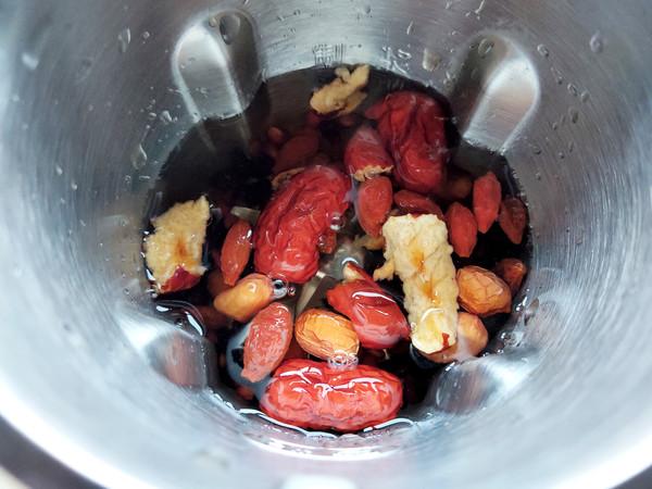 双豆红枣豆浆怎么吃