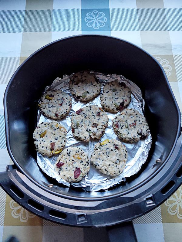 燕麦片饼干的家常做法