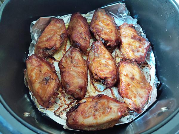 烤藤椒鸡翅(空气炸锅)的步骤
