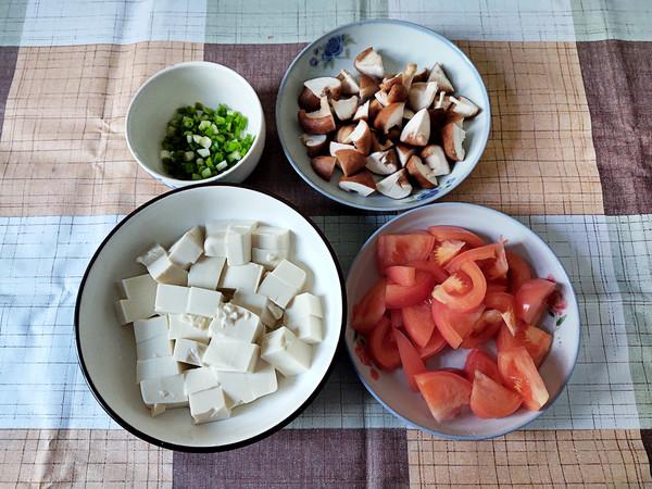 番茄香菇烩豆腐的做法大全