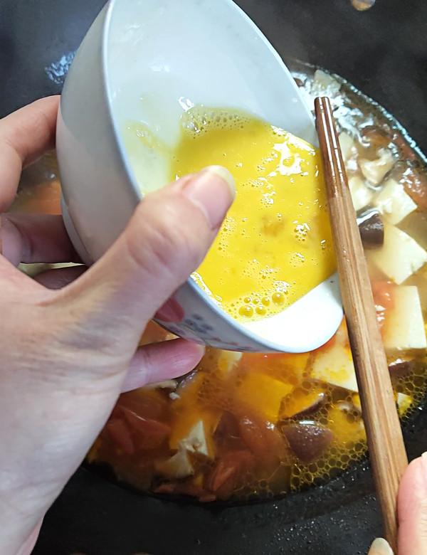 番茄香菇烩豆腐怎么做