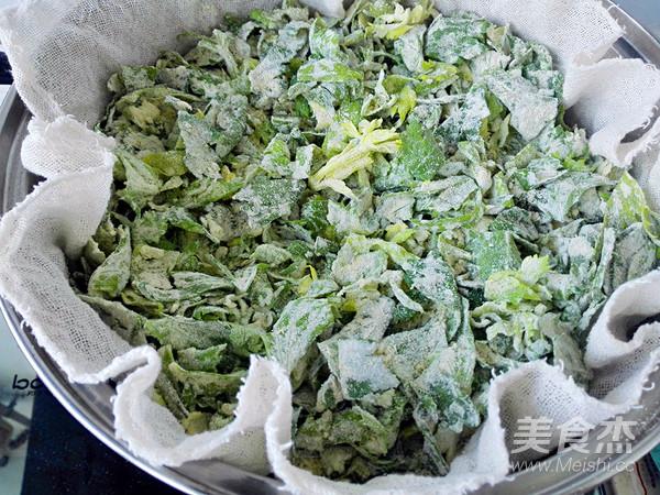 蒸芹菜叶怎么做