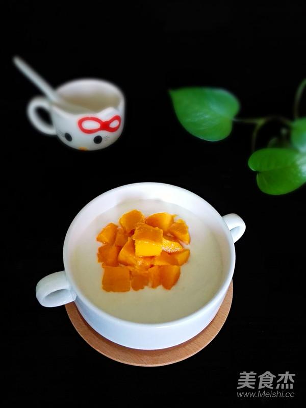 芒果酸奶(面包机版)成品图