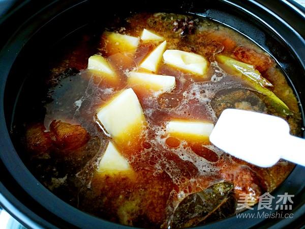 土豆粉条炖红烧肉怎样煮