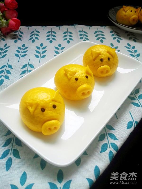 南瓜小猪馒头怎样煮