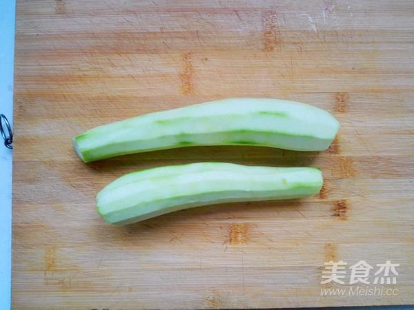 丝瓜炒肉的做法图解