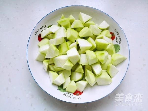 丝瓜炒肉的家常做法