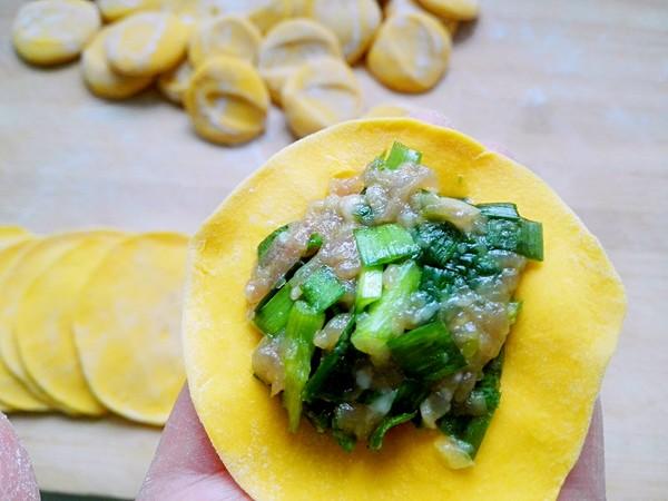 黄金韭菜饺怎样炒