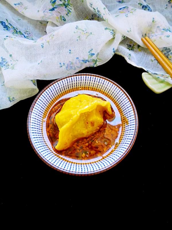 黄金韭菜饺的制作方法