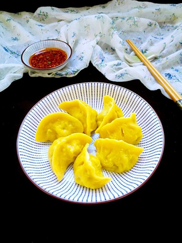 黄金韭菜饺的制作