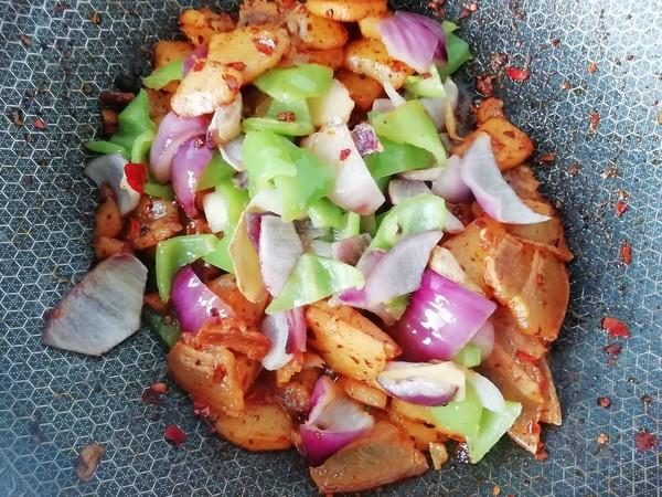 尖椒腊肉炒土豆怎么煮