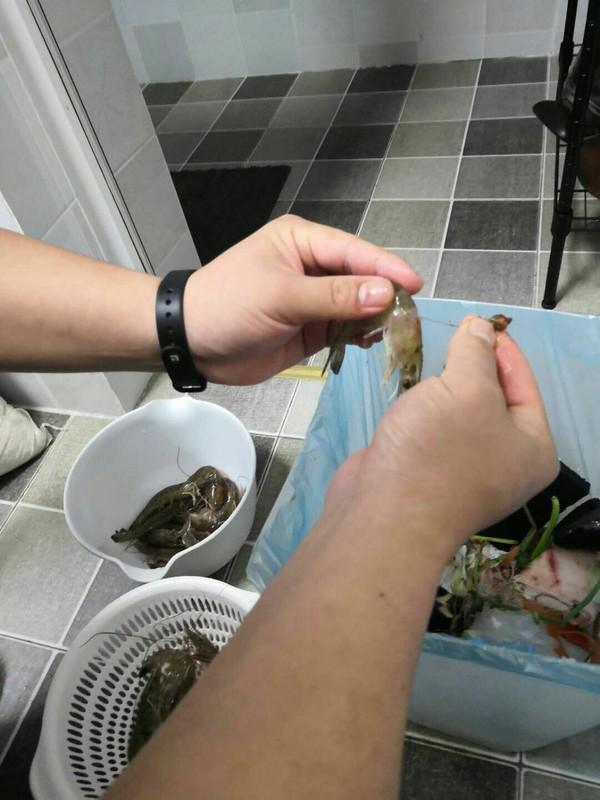 白灼基围虾的做法图解