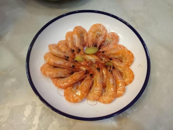 白灼基围虾的简单做法