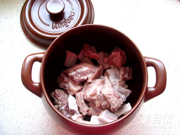 香菇炖排骨汤的家常做法