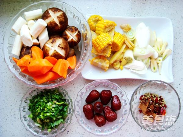 香菇炖排骨汤的做法大全