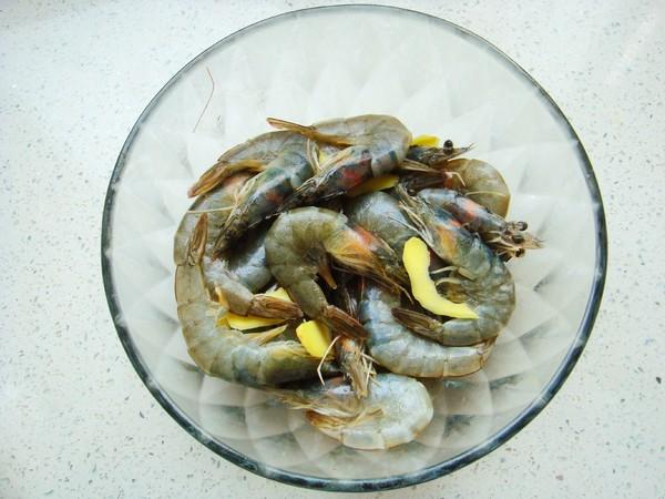 蒜蓉烤鲜虾的家常做法