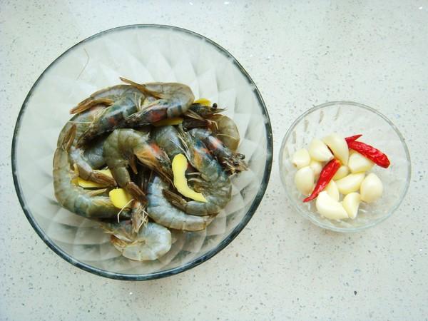 蒜蓉烤鲜虾的简单做法